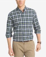 Izod Men's Big & Tall Oxford Plaid Shirt