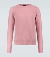 Thumbnail for your product : Prada Shetland wool crewneck sweater