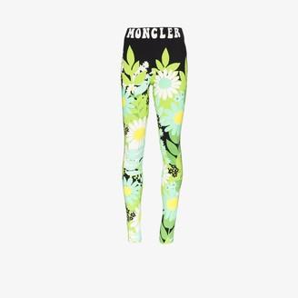 MONCLER GENIUS 8 Moncler Richard Quinn high waist floral leggings