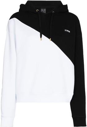 P.E Nation Amplitude colour-block hoodie