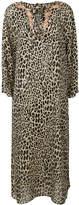 Etro leopard print long dress