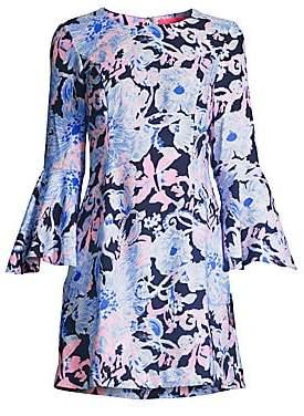 Lilly Pulitzer Women's Kayla Stretch Floral Shift Dress