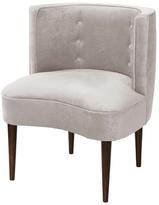 Skyline Furniture Button Tufted Armless Chair