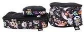 Ju-Ju-Be Infant X Tokidoki Be Organized Set Of 3 Top Zip Cases - Black