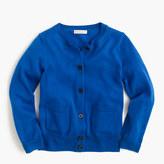 J.Crew Girls' classic merino cardigan sweater