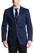 Tommy Hilfiger Men's Gibbs Navy Two-Button Side-Vent Sport Coat