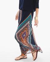 Chico's Diamond Multi-Print Maxi Skirt