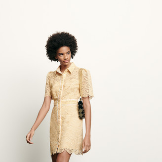 Sandro Short lace dress