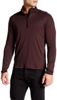 Robert Barakett Jefferson Half Zip Long Sleeve Shirt