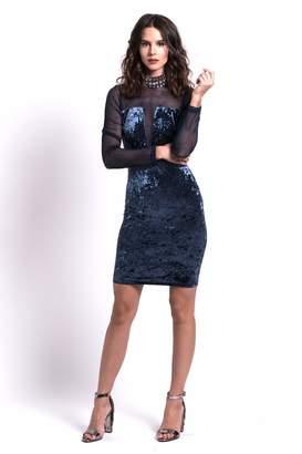 Dolcicimo Sexy Velvet Dress