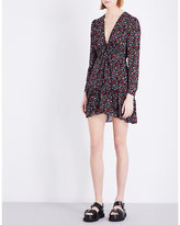 A.L.C. Renata silk-crepe mini dress