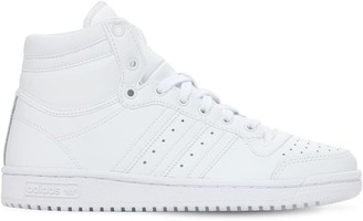 adidas Top Ten J Leather Lace-up Sneakers