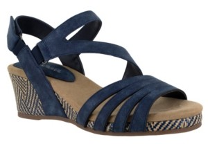 Easy Street Shoes Lee Wedge Sandals Women's Shoes