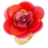 Kate Spade Women's Rosy Posies Ring