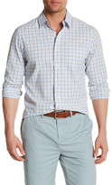 Slate & Stone Long Sleeve Window Pane Slim Fit Shirt