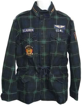 Polo Ralph Lauren Green Cotton Jackets