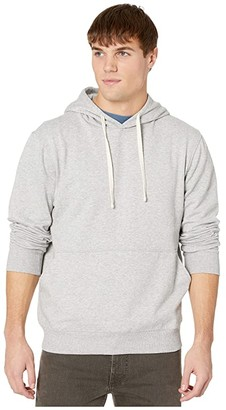 Richer Poorer Pullover Hoodie (Light Heather Grey) Men's Clothing