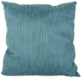 A&B Home Turquoise Textured Square Throw Pillow