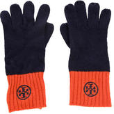 Tory Burch Logo Wool Gloves