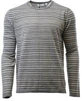 Calvin Klein Men's Merino Stripe Crew Neck Sweater