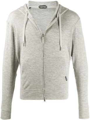 Tom Ford Zip-Front Cashmere Hoodie
