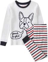 Joe Fresh Toddler Girls' Print Sleep Set, Off White (Size 3)