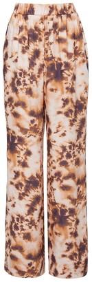 Nanushka Comet Tie-Dye Elastic Waist Pants