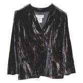 Saint Laurent Purple Velvet Jacket for Women Vintage