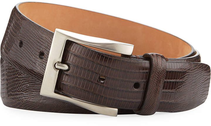 Goodmans Goodman's 35mm Shiny Lizard Belt