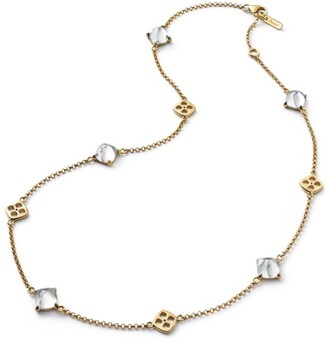 Baccarat Vermeil and Crystal Medicis Necklace