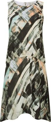 Great Plains Women's Pastel Paint Double Layer Dress