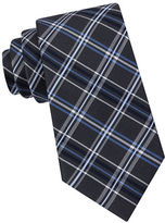 Black Brown 1826 Oxford Plaid Silk Tie