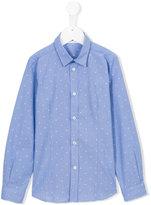 Tagliatore Junior - polka dot shirt - kids - Cotton - 3 yrs