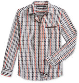 Sean John Men's Dobby Check Shirt, Only at Macy's