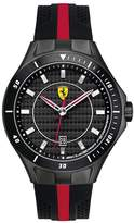 Ferrari Men's Scuderia 830079 Two-Tone Silicone Quartz Watch with Grey Dial