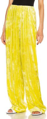 Balenciaga Pajama Suit Pant in Citrus Yellow | FWRD