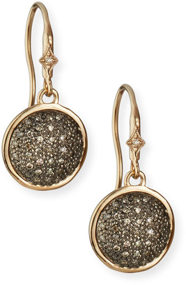 Armenta New World Diamond Pave Disc-Drop Earrings