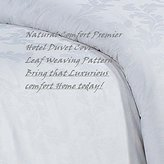 Natural Comfort Premier Hotel Select Duvet Cover, Queen, Paradise Leaf/White