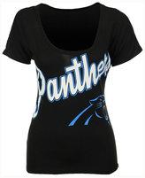 '47 Women's Carolina Panthers Roundoff T-Shirt