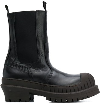 Acne Studios Chunky Sole Ankle Boots