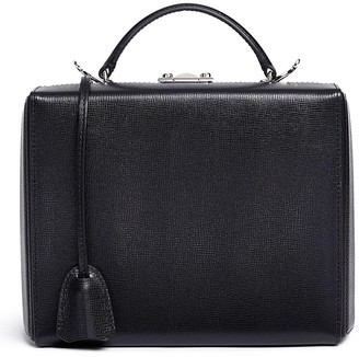 Mark Cross 'Grace Large Box' saffiano leather trunk