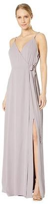 WAYF Angelina Gown (Evening Haze) Women's Dress