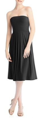 Dessy Collection Multi-Way Loop Fit & Flare Dress