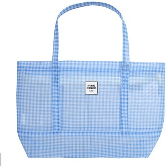 Opening Ceremony Gingham Chinatown Tote Bag