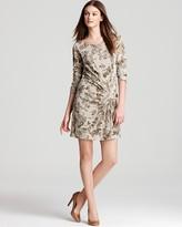 Thakoon Camo Print Dress - Hip Banded
