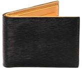 Magnanni Men's Slim Leather Bifold Wallet - Black