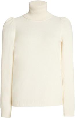 Madeleine Thompson Women's Cashmere Turtleneck Sweater - White - Moda Operandi