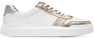 Cole Haan GrandPro Rally Metallic Leather Sneakers
