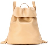 The Row Leather backpack bag