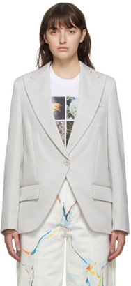 Stella McCartney Grey Lindsey Blazer